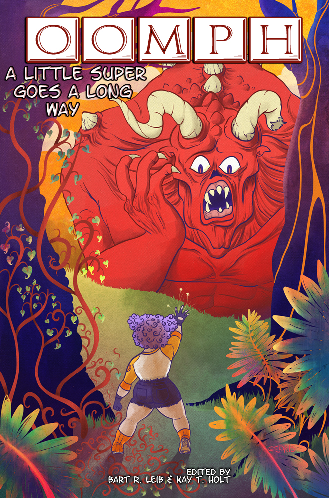 Cover for OOMPH anthology